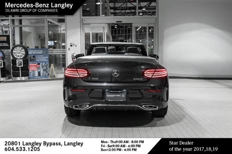 Mercedes Benz Langley 2020 Mercedes Benz C300 4matic Cabriolet 20b9536