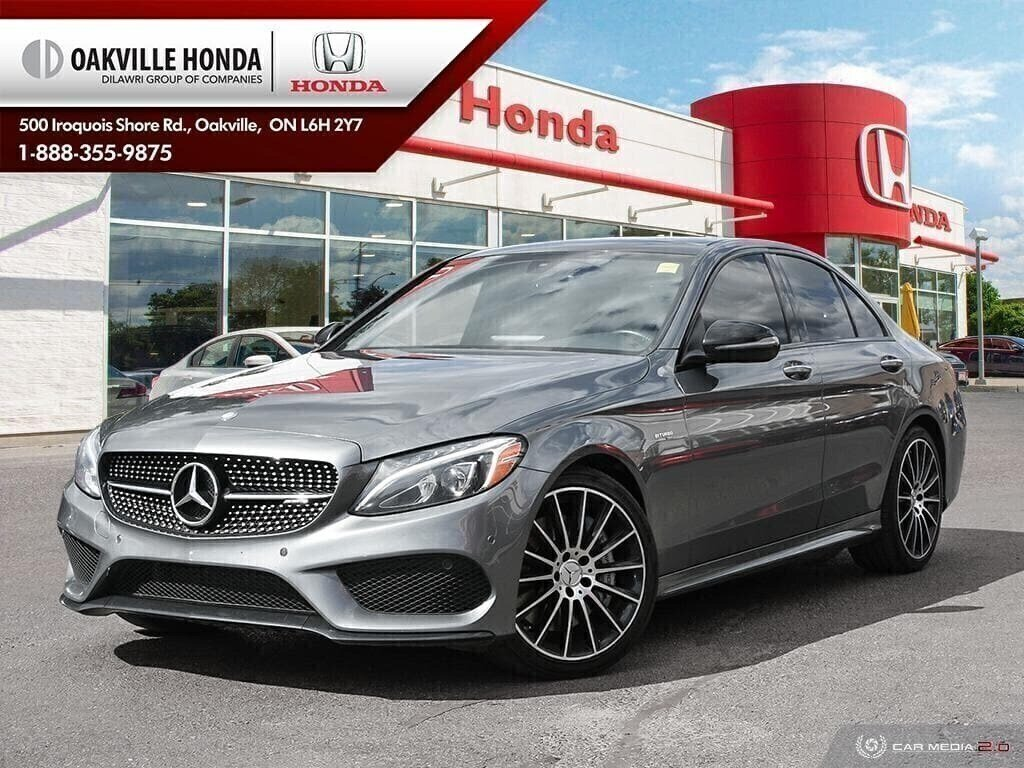 2017 Mercedes-Benz C43 AMG 4MATIC Sedan in Oakville, Ontario - 1 - w1024h768px
