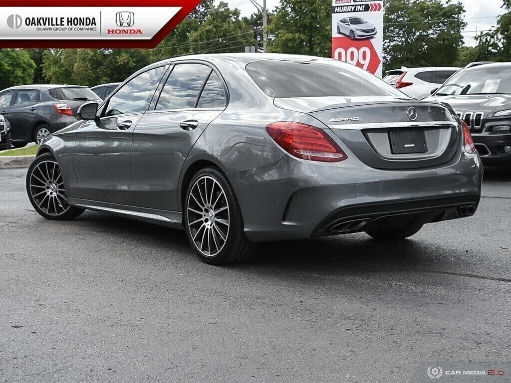 2017 Mercedes-Benz C43 AMG 4MATIC Sedan in Oakville, Ontario - 4 - w1024h768px