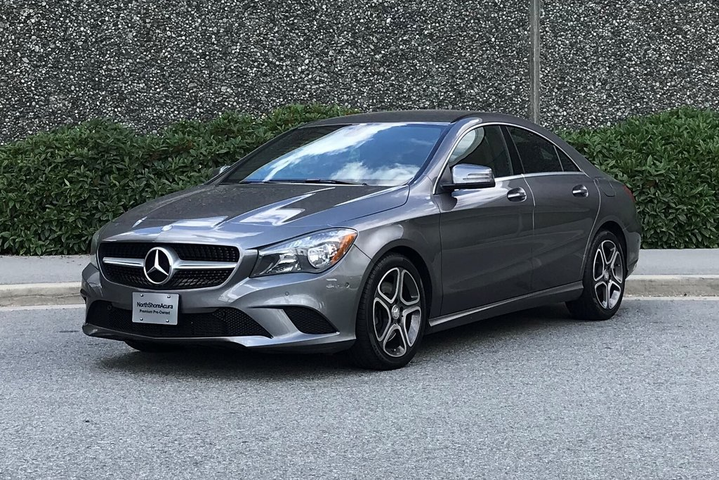 2014 Mercedes-Benz CLA250 Coupe in North Vancouver, British Columbia - 8 - w1024h768px