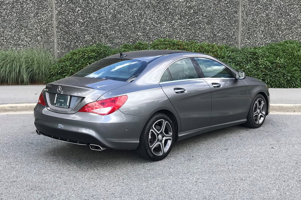 2014 Mercedes-Benz CLA250 Coupe in North Vancouver, British Columbia - 21 - w1024h768px