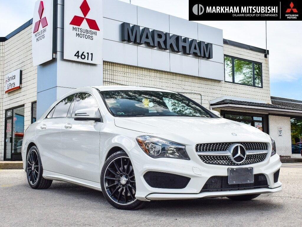 2014 Mercedes-Benz CLA250 4MATIC Coupe in Markham, Ontario - 1 - w1024h768px