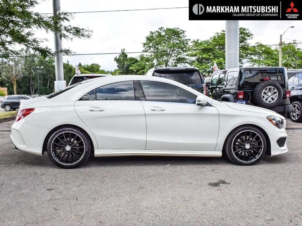 2014 Mercedes-Benz CLA250 4MATIC Coupe in Markham, Ontario - 3 - w1024h768px