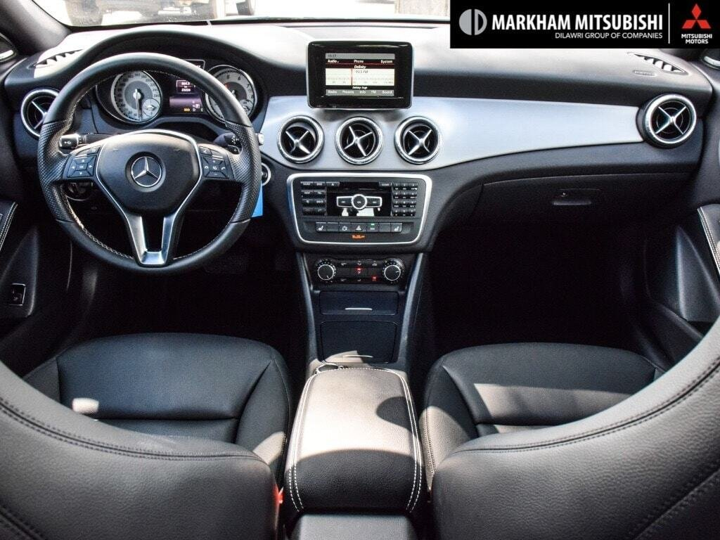 2014 Mercedes-Benz CLA250 4MATIC Coupe in Markham, Ontario - 11 - w1024h768px