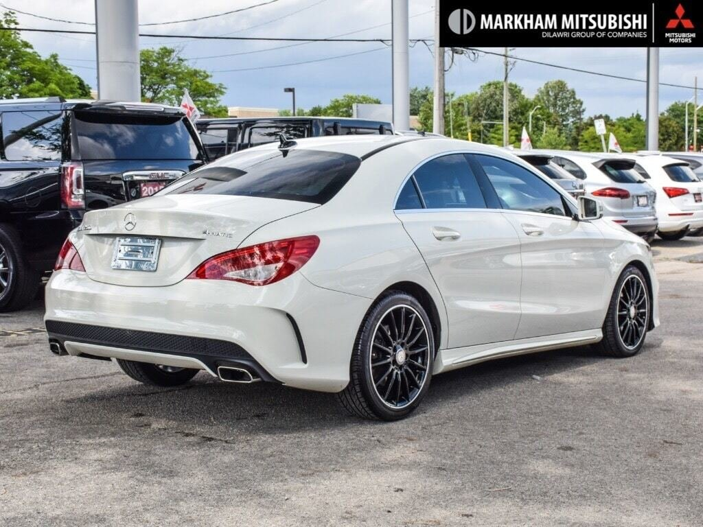 2014 Mercedes-Benz CLA250 4MATIC Coupe in Markham, Ontario - 4 - w1024h768px