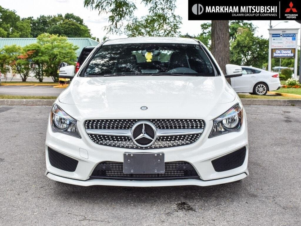 2014 Mercedes-Benz CLA250 4MATIC Coupe in Markham, Ontario - 2 - w1024h768px