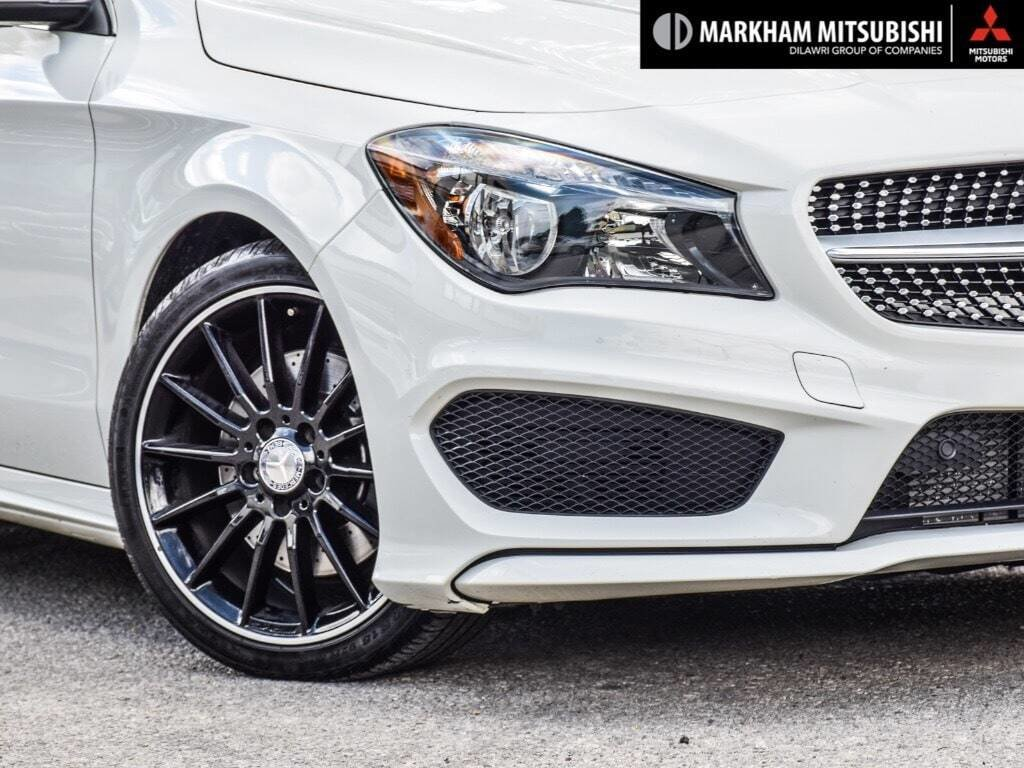 2014 Mercedes-Benz CLA250 4MATIC Coupe in Markham, Ontario - 7 - w1024h768px