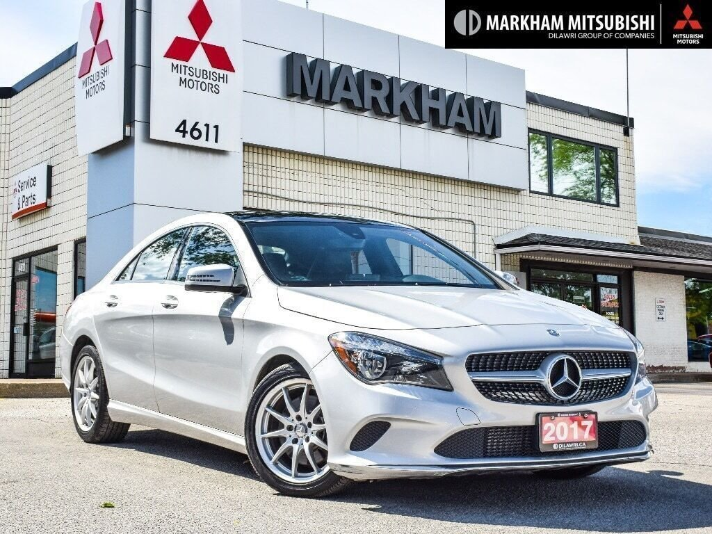 2017 Mercedes-Benz CLA250 4MATIC Coupe in Markham, Ontario - 1 - w1024h768px