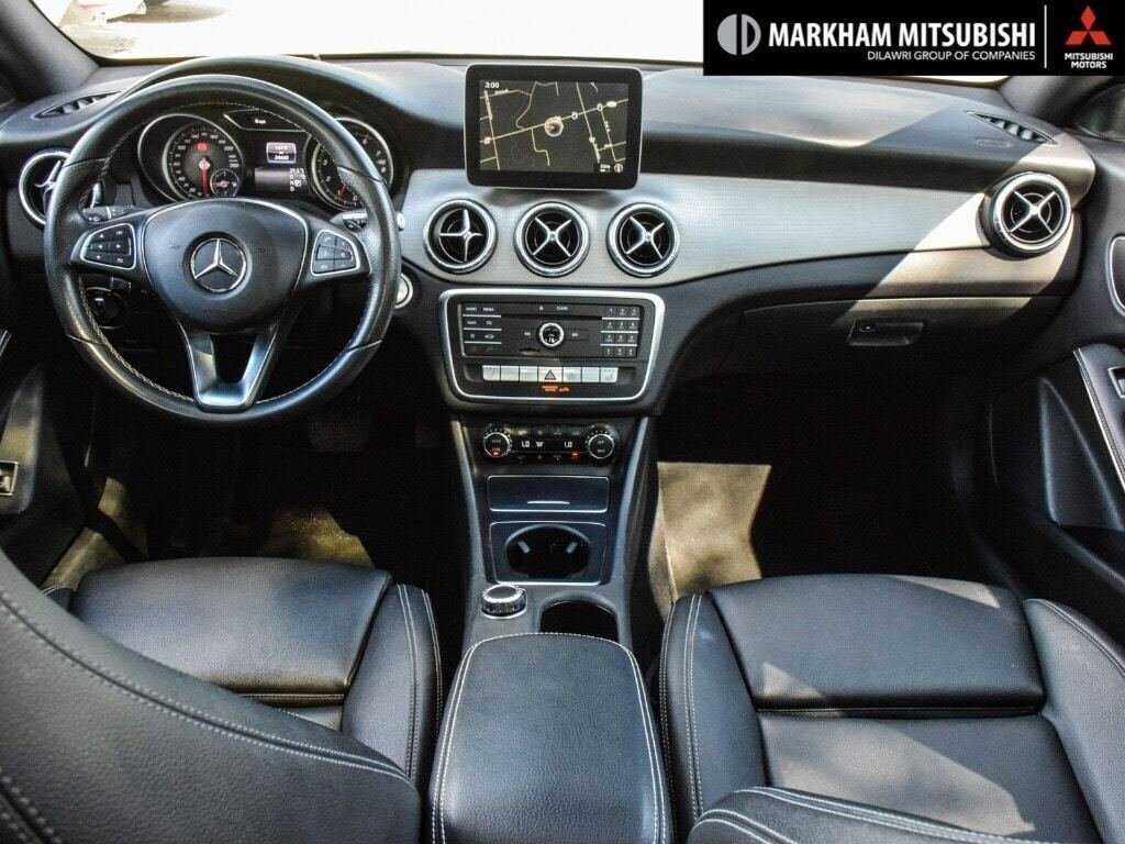 2017 Mercedes-Benz CLA250 4MATIC Coupe in Markham, Ontario - 11 - w1024h768px