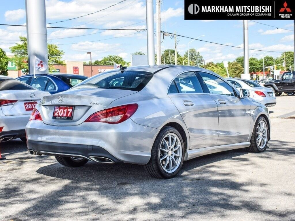 2017 Mercedes-Benz CLA250 4MATIC Coupe in Markham, Ontario - 4 - w1024h768px