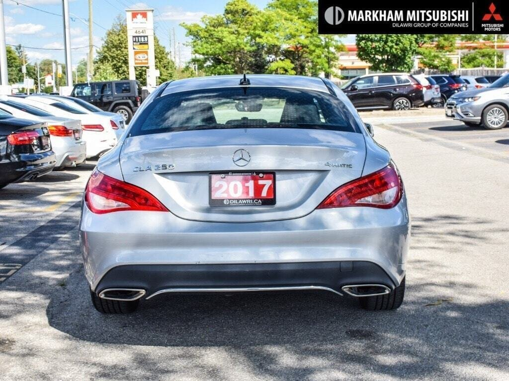 2017 Mercedes-Benz CLA250 4MATIC Coupe in Markham, Ontario - 5 - w1024h768px