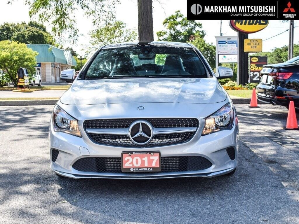 2017 Mercedes-Benz CLA250 4MATIC Coupe in Markham, Ontario - 2 - w1024h768px