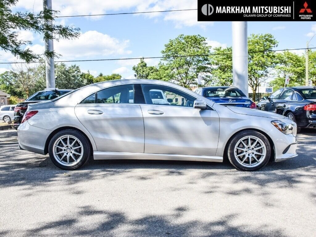 2017 Mercedes-Benz CLA250 4MATIC Coupe in Markham, Ontario - 3 - w1024h768px