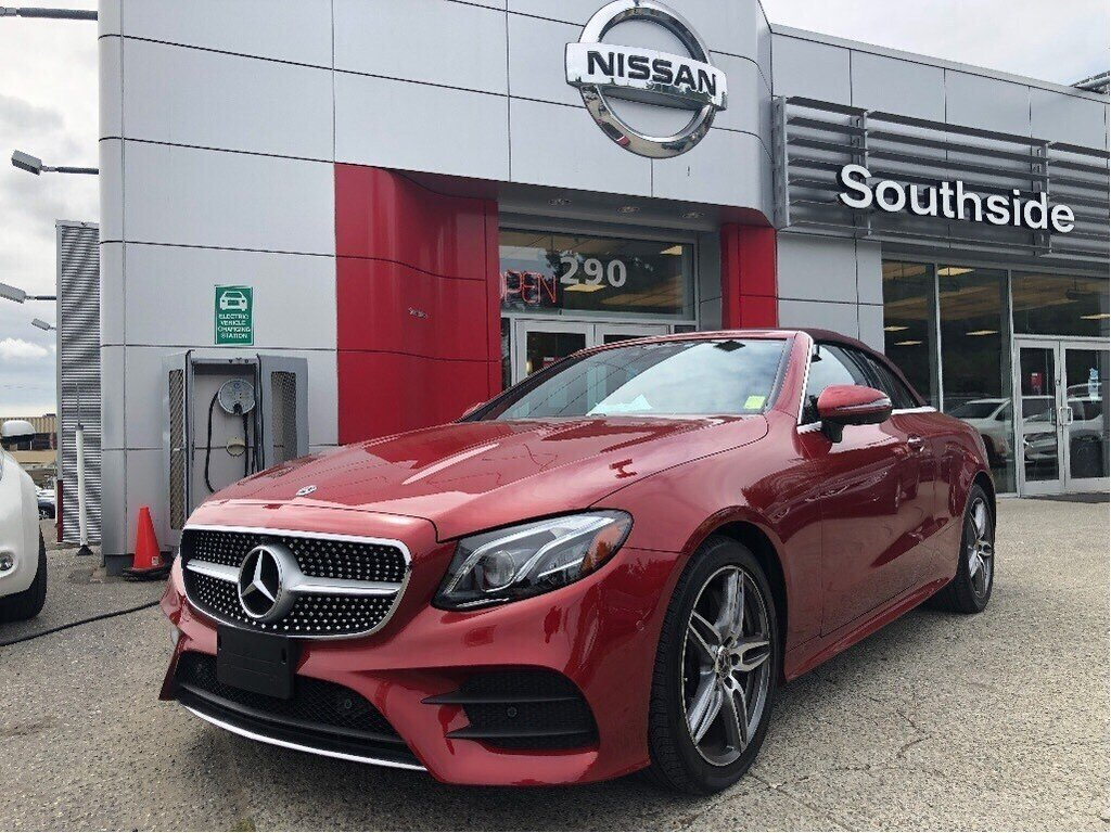 2018 Mercedes-Benz E400 4MATIC Cabriolet in Vancouver, British Columbia - 1 - w1024h768px