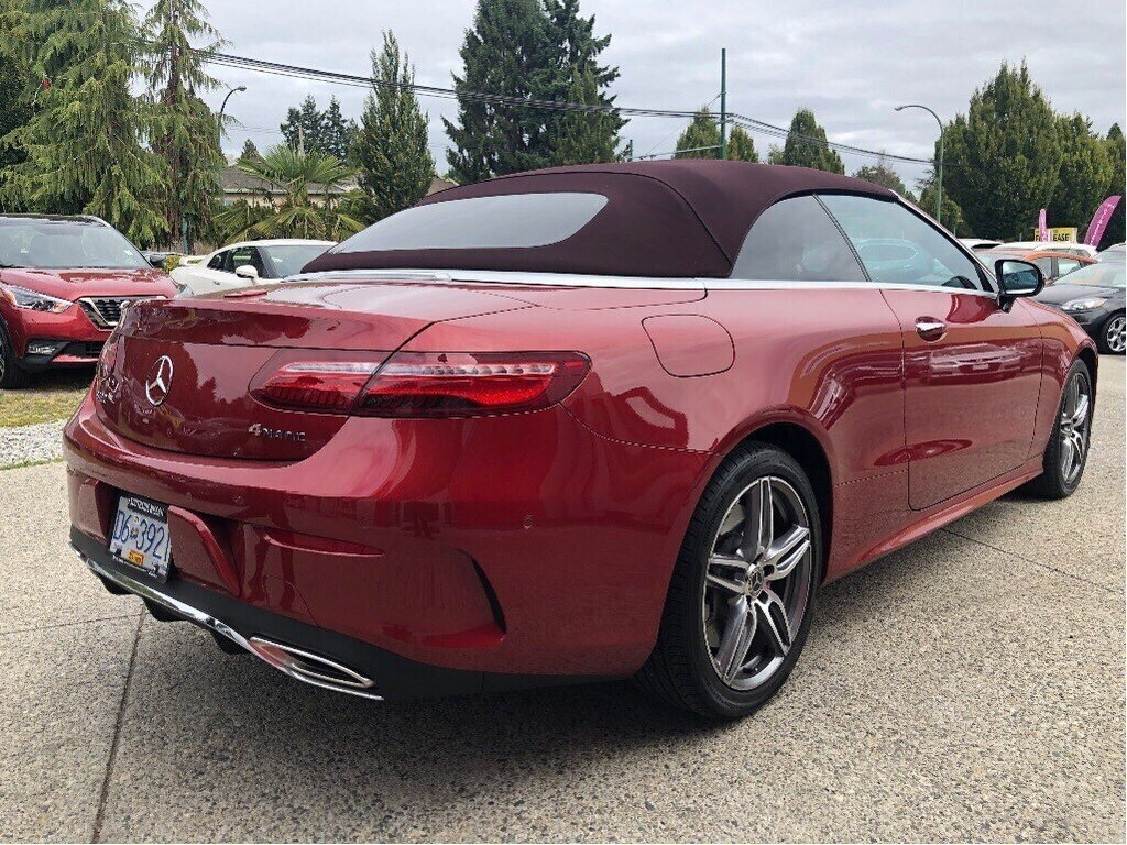 2018 Mercedes-Benz E400 4MATIC Cabriolet in Vancouver, British Columbia - 5 - w1024h768px