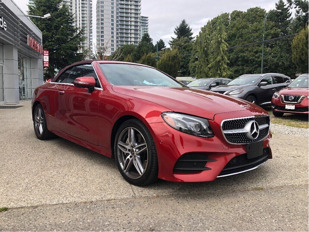 2018 Mercedes-Benz E400 4MATIC Cabriolet in Vancouver, British Columbia - 3 - w1024h768px