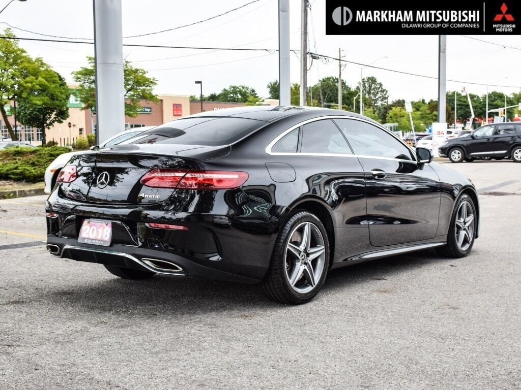 2018 Mercedes-Benz E400 4MATIC Coupe in Markham, Ontario - 4 - w1024h768px