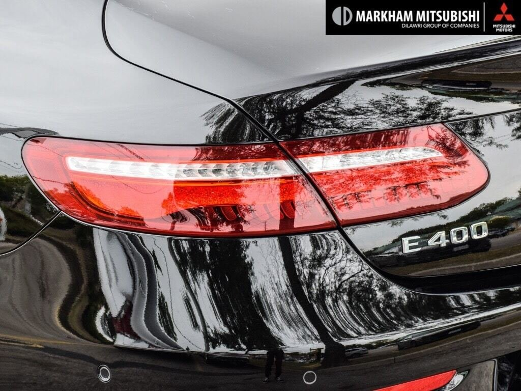 2018 Mercedes-Benz E400 4MATIC Coupe in Markham, Ontario - 6 - w1024h768px