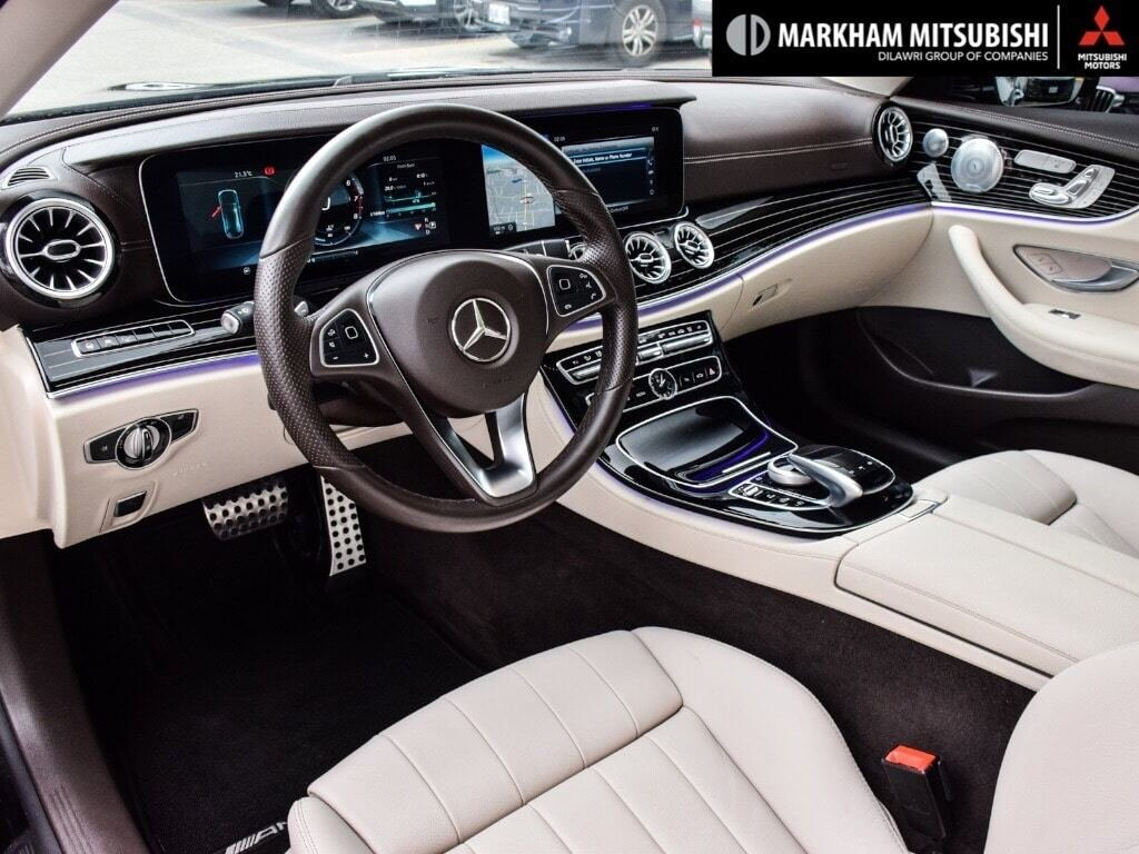2018 Mercedes-Benz E400 4MATIC Coupe in Markham, Ontario - 11 - w1024h768px