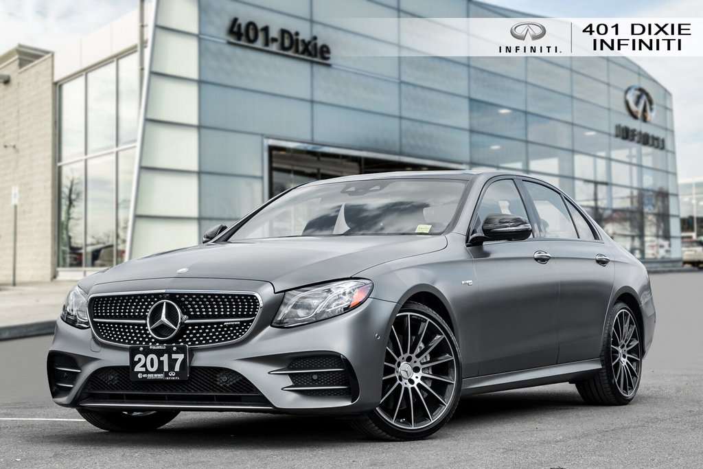 2017 Mercedes-Benz E43 AMG 4MATIC Sedan in Mississauga, Ontario - 1 - w1024h768px