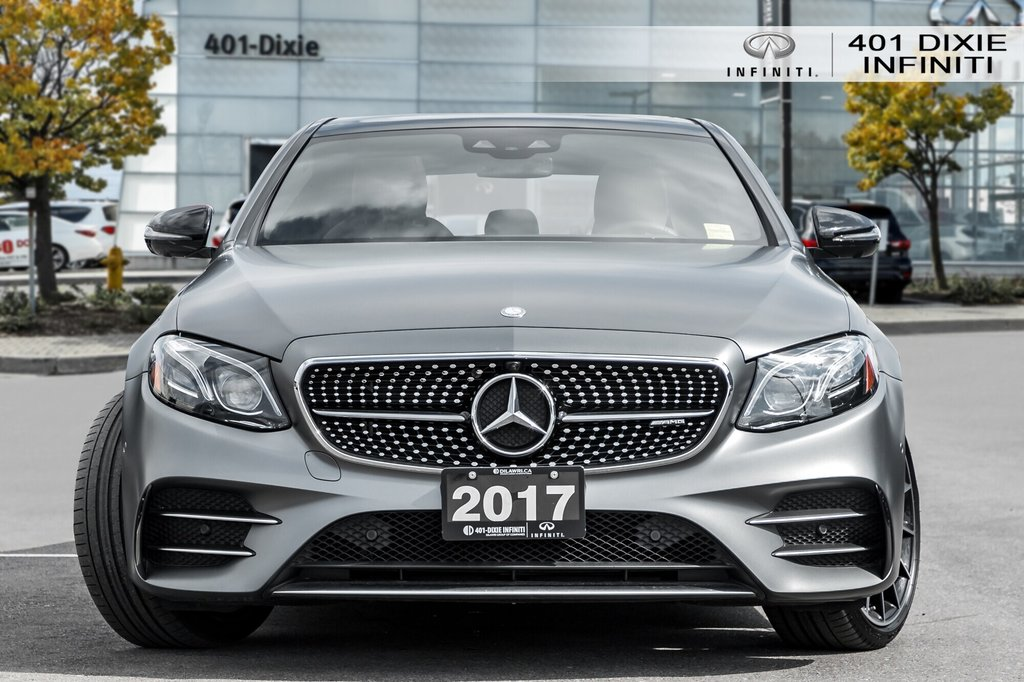 2017 Mercedes-Benz E43 AMG 4MATIC Sedan in Mississauga, Ontario - 2 - w1024h768px