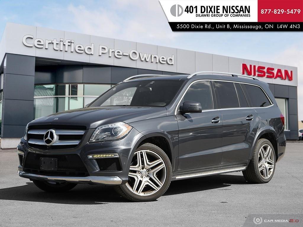 2016 Mercedes-Benz GL350 BlueTEC 4MATIC in Mississauga, Ontario - 1 - w1024h768px