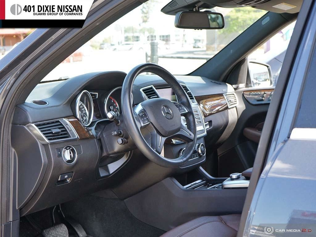 2016 Mercedes-Benz GL350 BlueTEC 4MATIC in Mississauga, Ontario - 12 - w1024h768px
