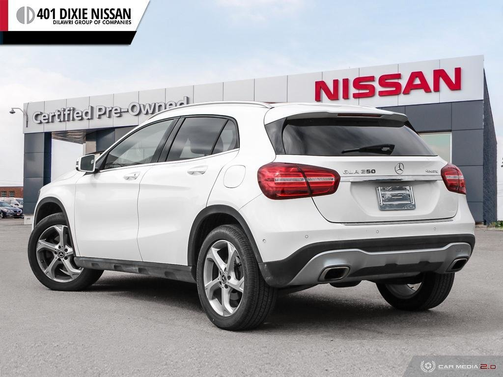 2018 Mercedes-Benz GLA250 4MATIC SUV in Mississauga, Ontario - 4 - w1024h768px