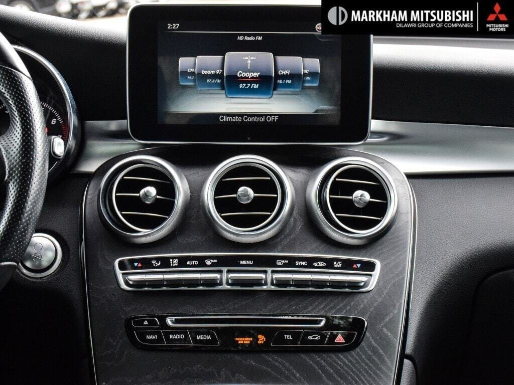 2017 Mercedes-Benz GLC300 4MATIC SUV in Markham, Ontario - 16 - w1024h768px
