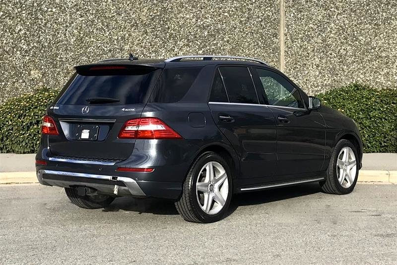 2015 Mercedes-Benz ML400 4MATIC in North Vancouver, British Columbia - 5 - w1024h768px