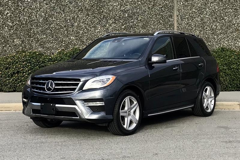 2015 Mercedes-Benz ML400 4MATIC in North Vancouver, British Columbia - 1 - w1024h768px