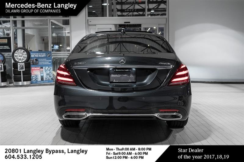 Lease Used Mercedes >> Mercedes-Benz Langley | 2020 Mercedes-Benz S560 4MATIC Sedan (LWB) | #20B1300