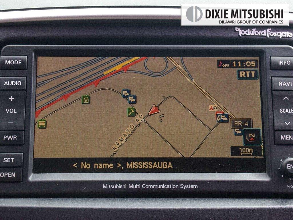 2012 Mitsubishi Lancer Evolution MR TC-SST in Mississauga, Ontario - 21 - w1024h768px