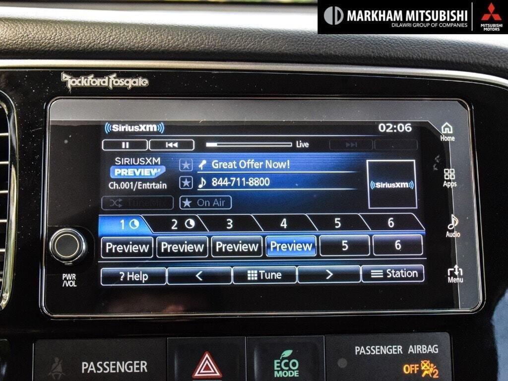 2018 Mitsubishi OUTLANDER PHEV GT S-AWC in Markham, Ontario - 20 - w1024h768px