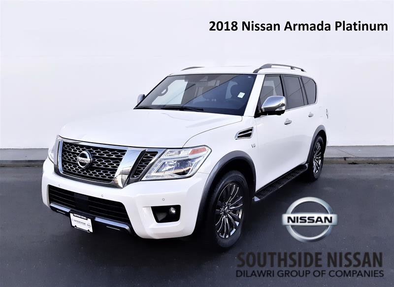 2018 Nissan Armada Platinum at in Vancouver, British Columbia - 1 - w1024h768px
