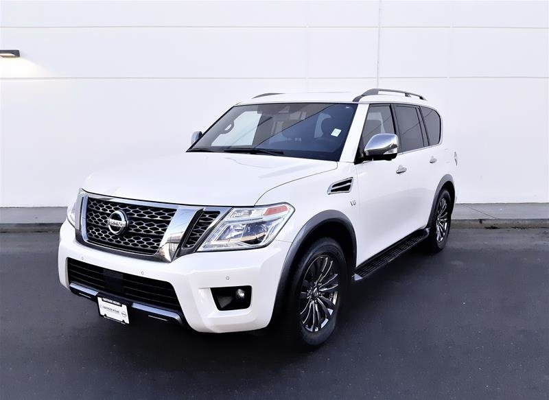 2018 Nissan Armada Platinum at in Vancouver, British Columbia - 4 - w1024h768px