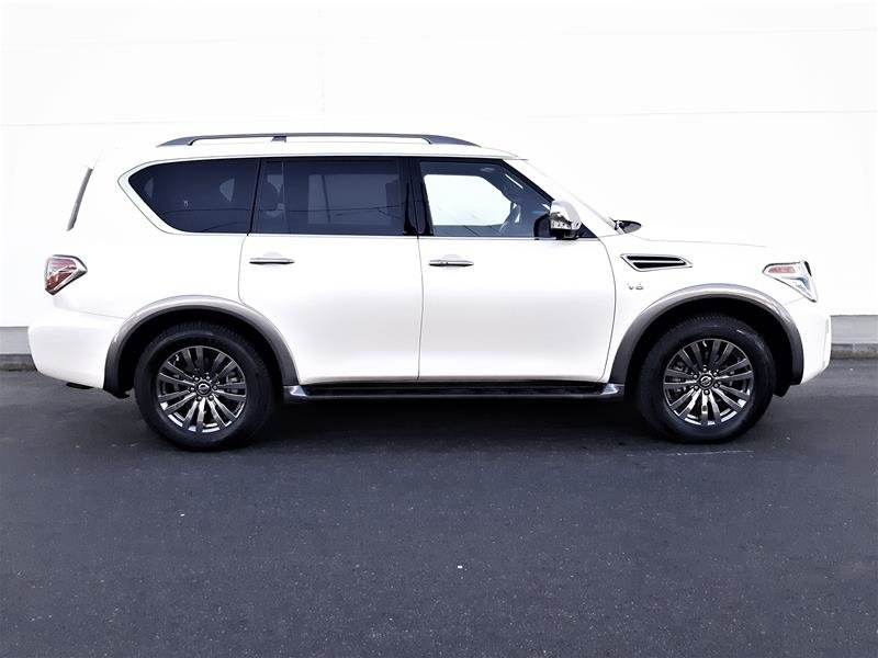 2018 Nissan Armada Platinum at in Vancouver, British Columbia - 9 - w1024h768px