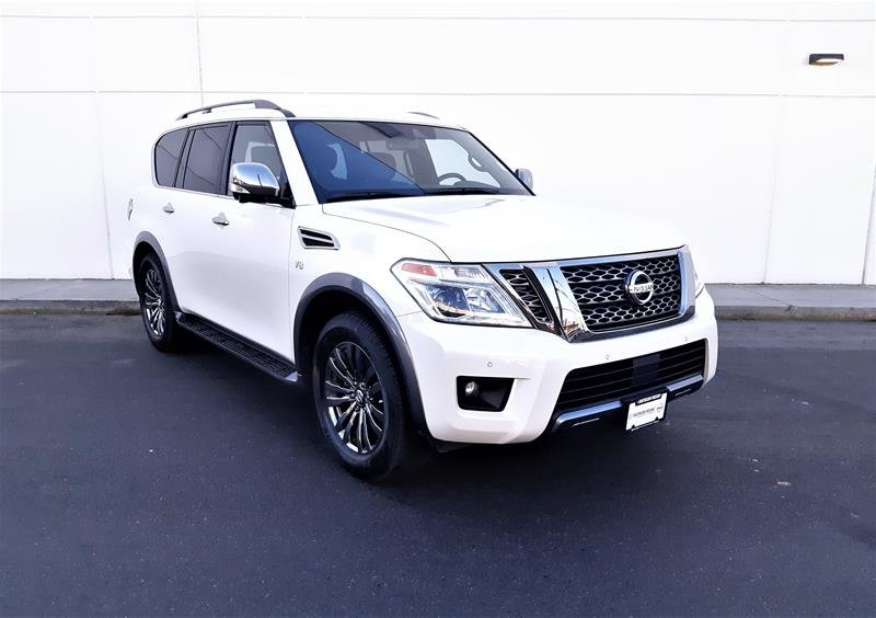 2018 Nissan Armada Platinum at in Vancouver, British Columbia - 2 - w1024h768px