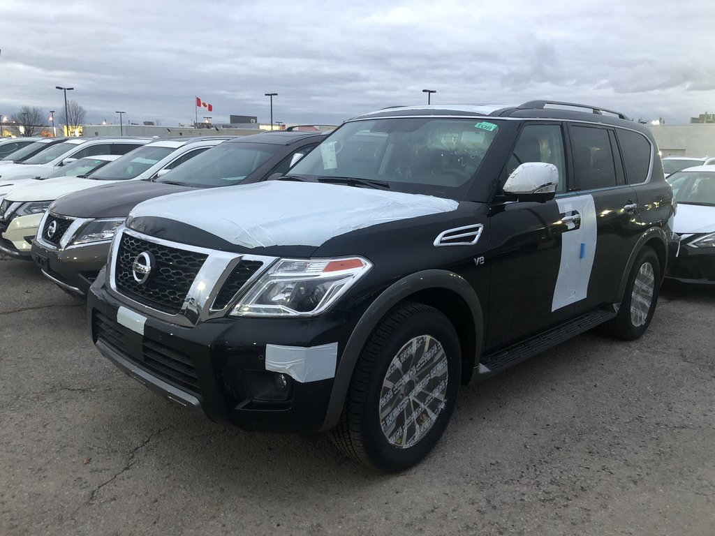 2019 Nissan Armada SL at in Mississauga, Ontario - 1 - w1024h768px