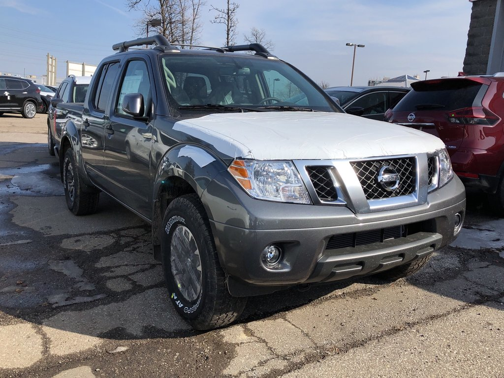2019 Nissan Frontier Crew Cab PRO-4X 4x4 at in Mississauga, Ontario - 3 - w1024h768px