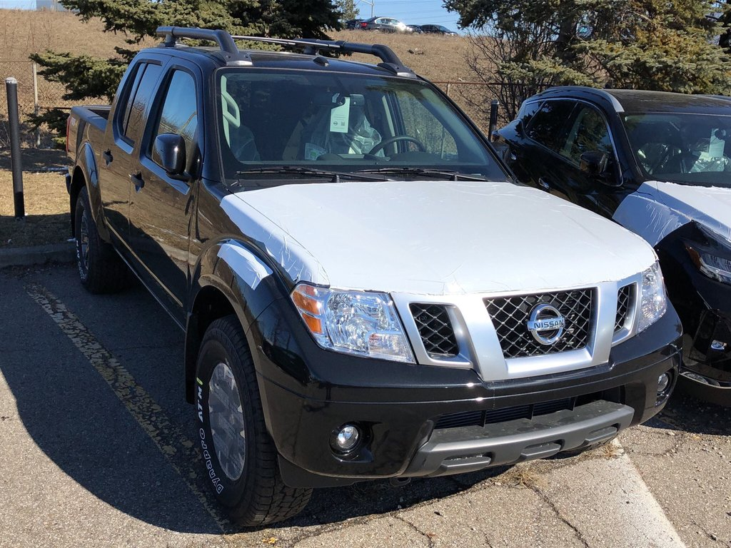 2019 Nissan Frontier Crew Cab PRO-4X 4x4 at in Mississauga, Ontario - 4 - w1024h768px