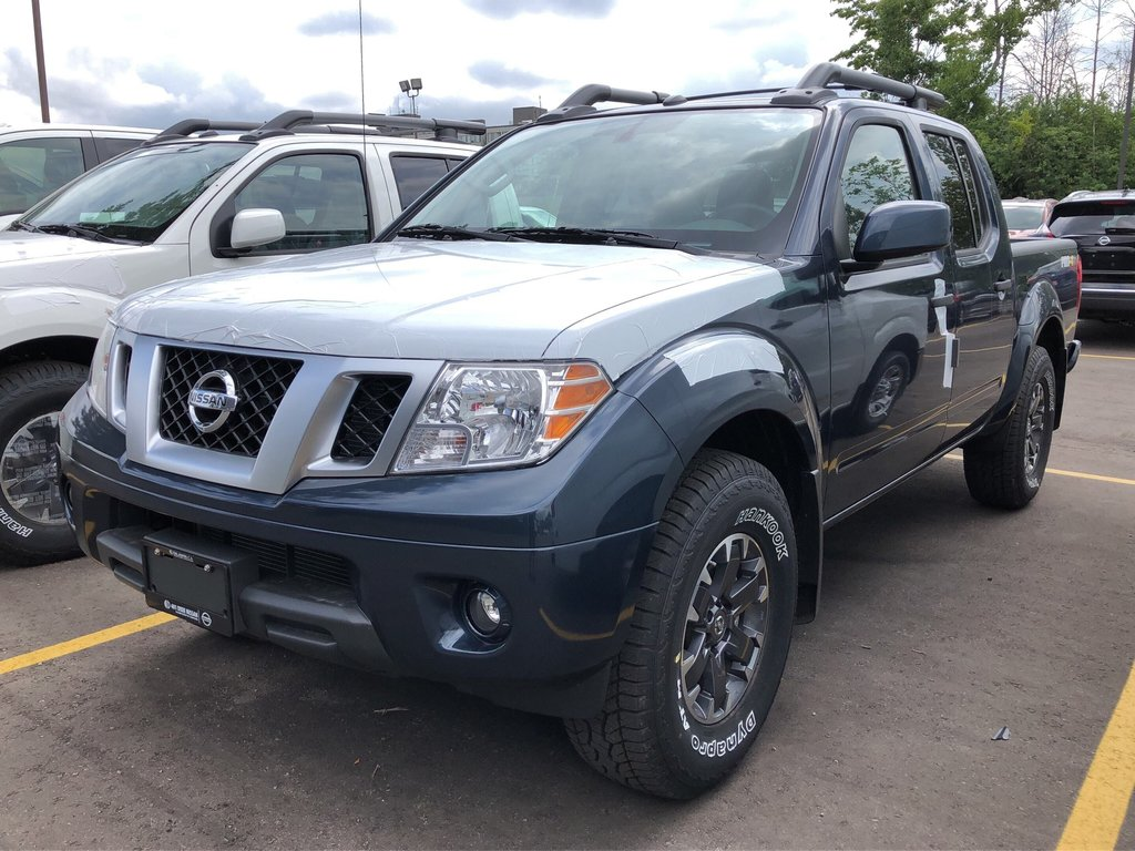 2019 Nissan Frontier Crew Cab PRO-4X 4x4 at in Mississauga, Ontario - 1 - w1024h768px