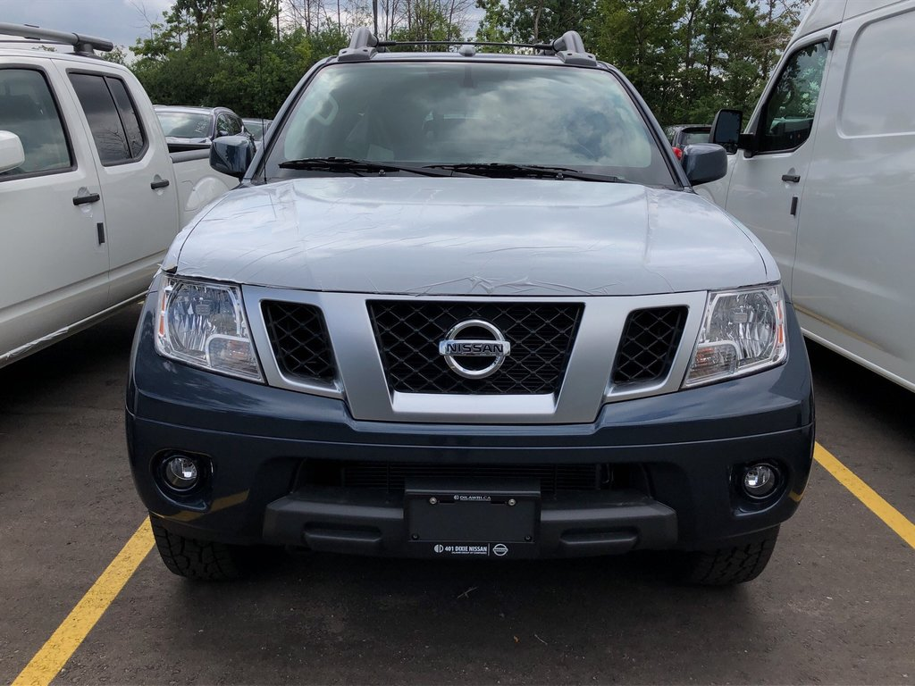 2019 Nissan Frontier Crew Cab PRO-4X 4x4 at in Mississauga, Ontario - 2 - w1024h768px