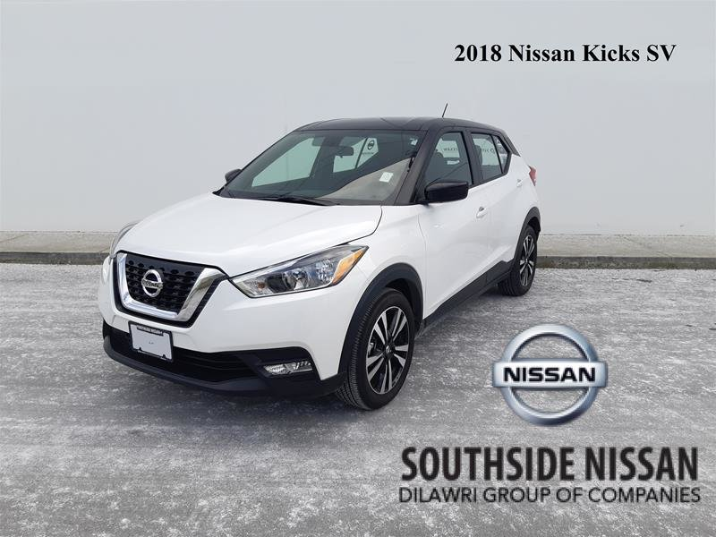 2018 Nissan KICKS SV CVT in Vancouver, British Columbia - 1 - w1024h768px