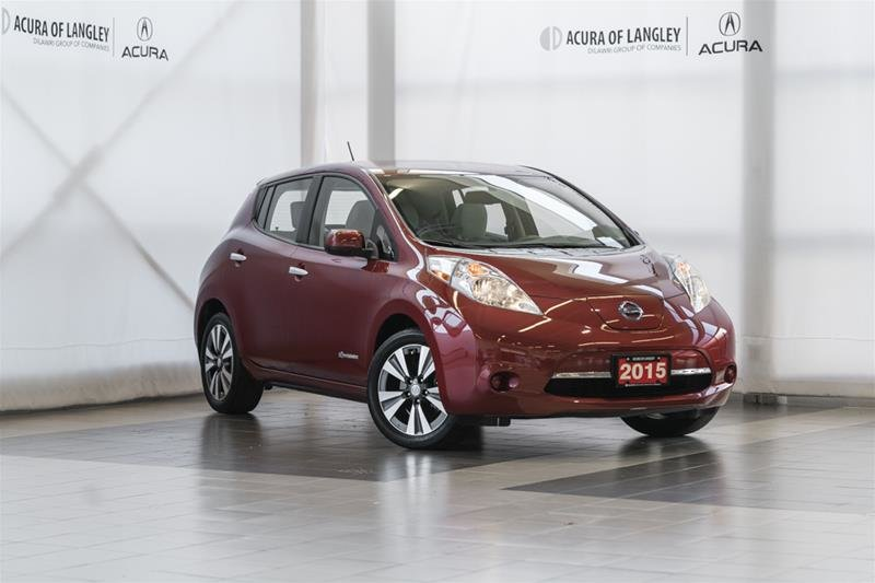 2015 Nissan Leaf SV in Langley, British Columbia - 1 - w1024h768px