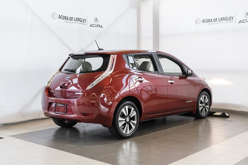 2015 Nissan Leaf SV in Langley, British Columbia - 6 - w1024h768px