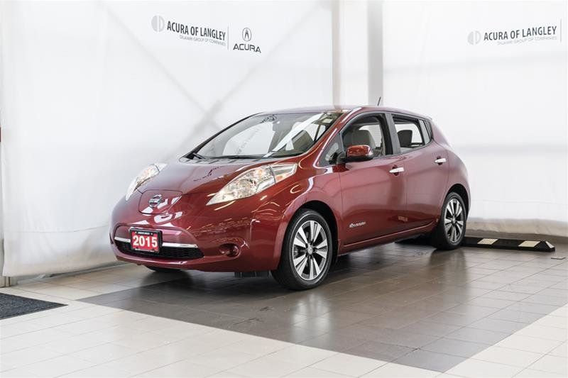 2015 Nissan Leaf SV in Langley, British Columbia - 3 - w1024h768px