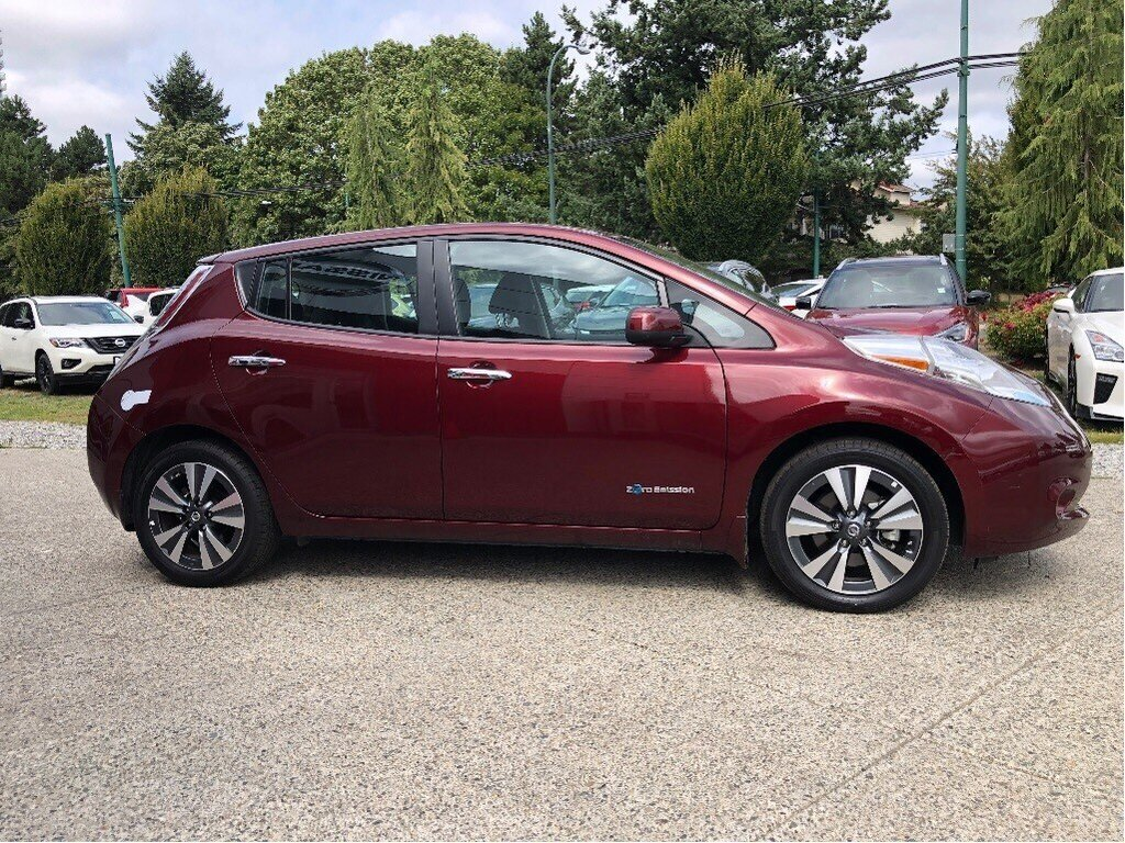 2016 Nissan Leaf SV in Vancouver, British Columbia - 4 - w1024h768px