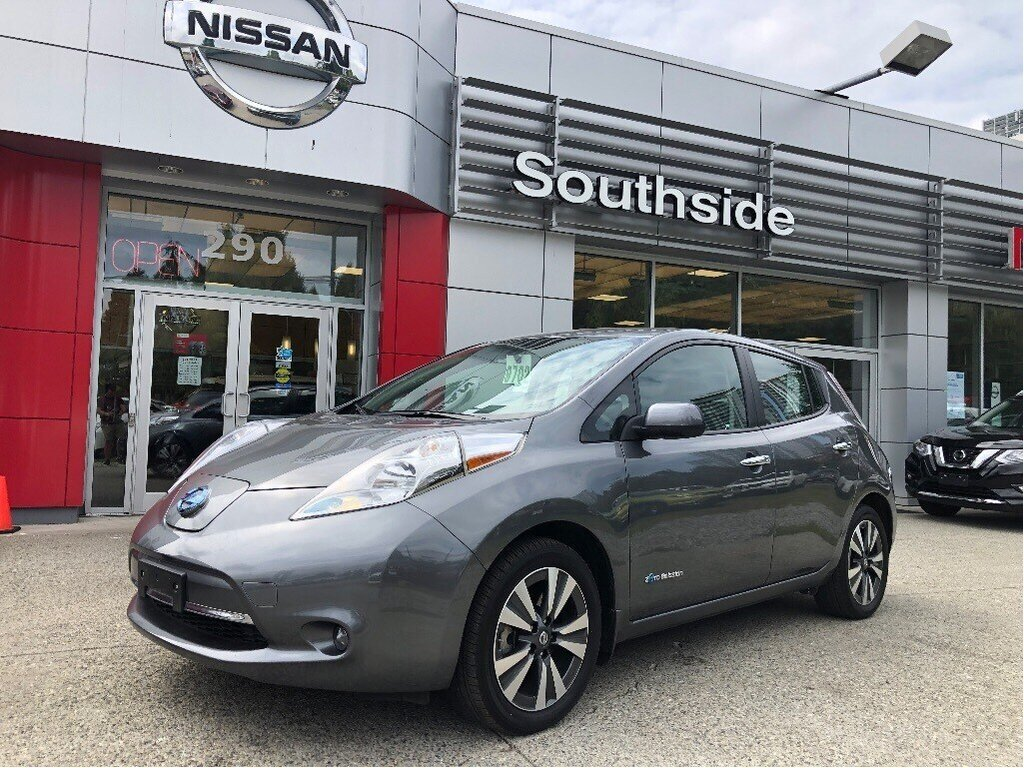 2016 Nissan Leaf SV in Vancouver, British Columbia - 1 - w1024h768px