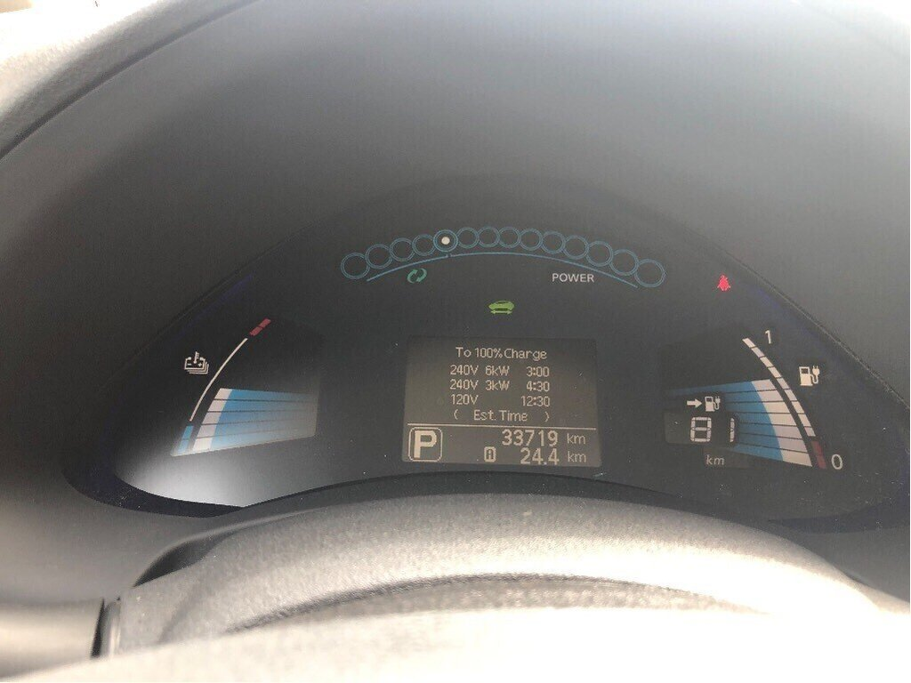 2016 Nissan Leaf SV in Vancouver, British Columbia - 14 - w1024h768px